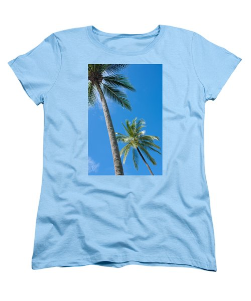 Coconuts  Women's T-Shirt (Standard Cut) by Atiketta Sangasaeng