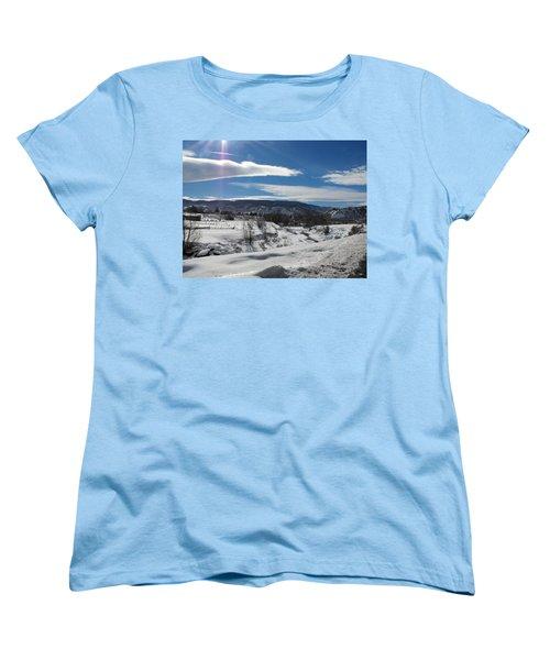 Cold Sun Women's T-Shirt (Standard Cut) by Adam Cornelison