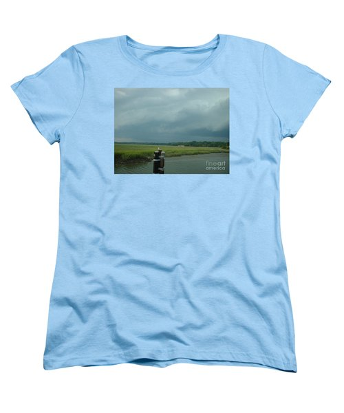 Coming On  Women's T-Shirt (Standard Cut) by Mark Robbins