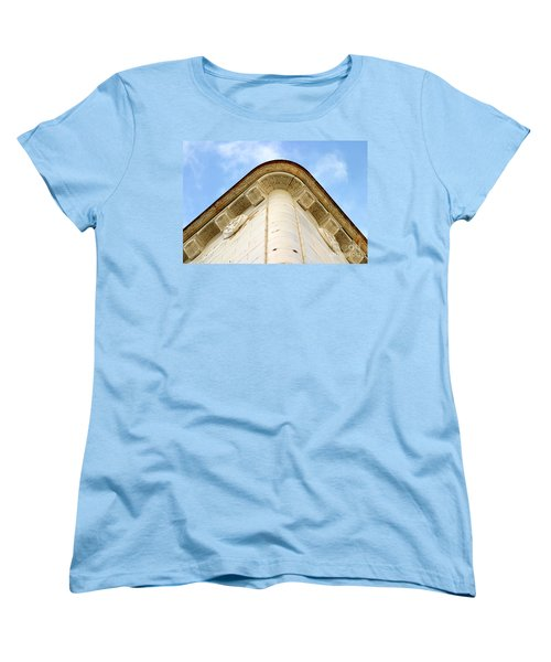 Corner Building Women's T-Shirt (Standard Cut) by Henrik Lehnerer