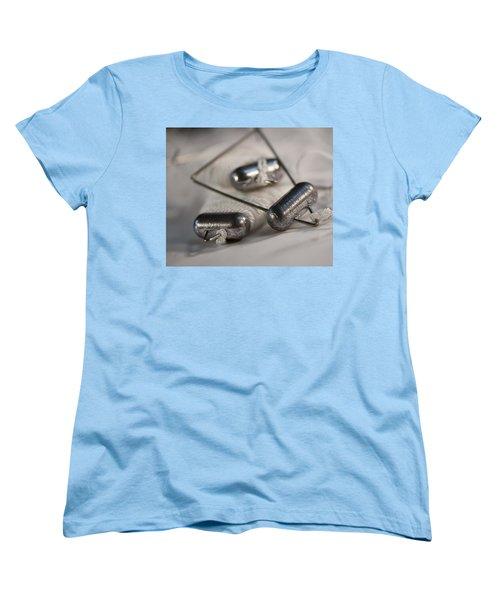 Crab Lines Women's T-Shirt (Standard Cut) by Wilma  Birdwell