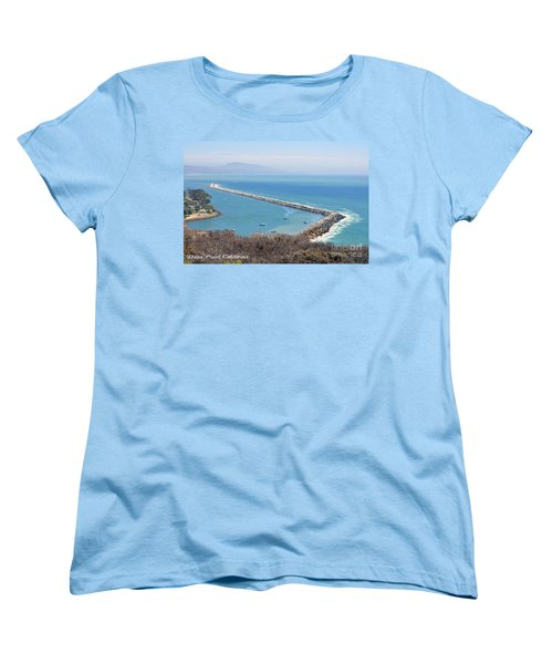 Women's T-Shirt (Standard Cut) featuring the photograph Dana Point California 9-1-12 by Clayton Bruster