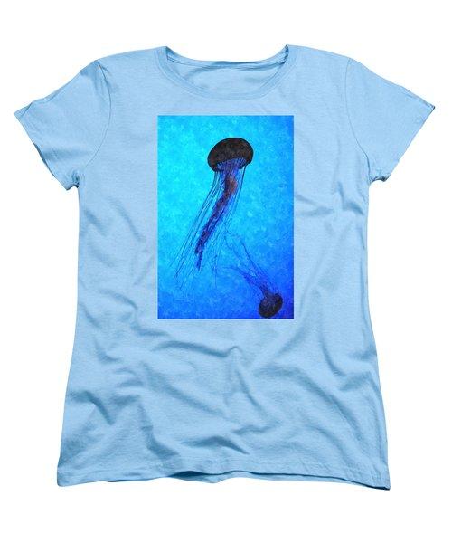 Deepsea Serenity Dswc Women's T-Shirt (Standard Cut) by Jim Brage