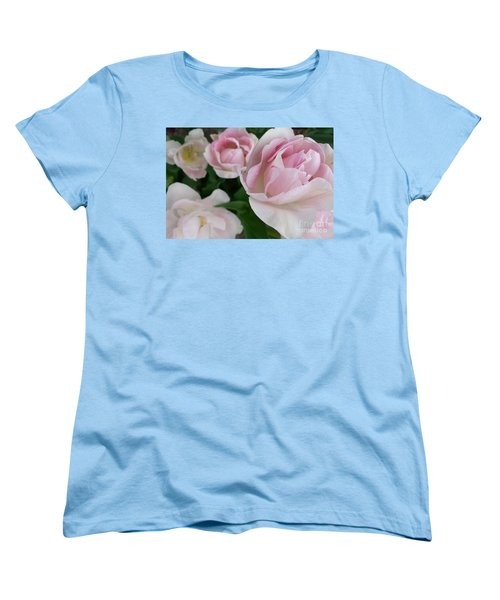 Double Pink Women's T-Shirt (Standard Cut) by Laurel Best