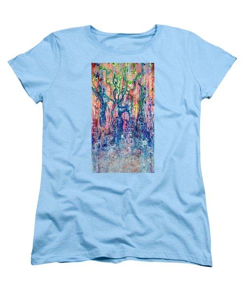 Dream Of Our Souls Awake Women's T-Shirt (Standard Cut) by Regina Valluzzi
