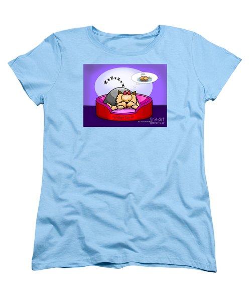 Dreaming Women's T-Shirt (Standard Cut) by Catia Cho