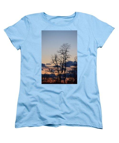 Dusk Women's T-Shirt (Standard Cut) by Bonnie Myszka