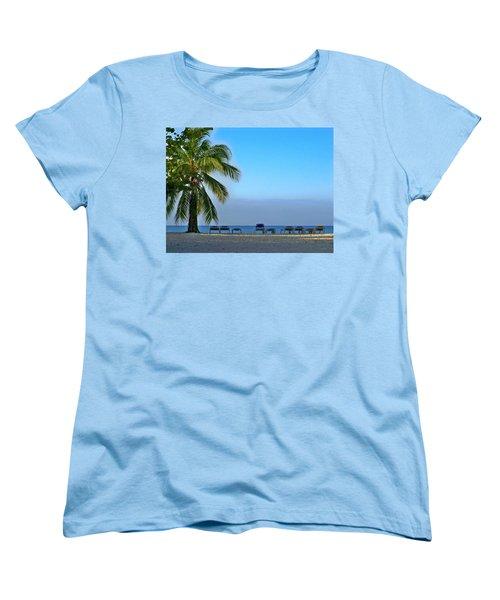 Women's T-Shirt (Standard Cut) featuring the photograph Early Morning Trinidad Cuba by Lynn Bolt
