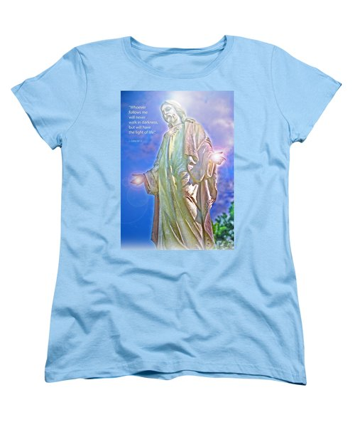 Easter Miracle Women's T-Shirt (Standard Cut) by Marie Hicks