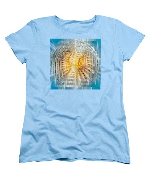 Escrow Vault Women's T-Shirt (Standard Cut) by Mark Greenberg