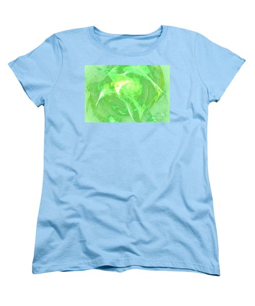 Women's T-Shirt (Standard Cut) featuring the digital art Ethereal by Kim Sy Ok