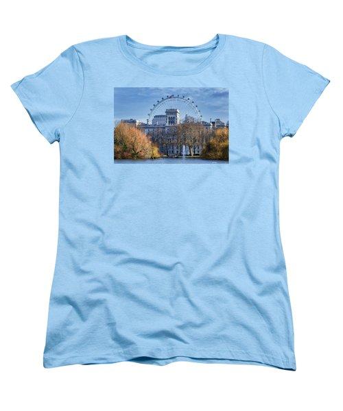 Eyeing The View Women's T-Shirt (Standard Cut) by Joan Carroll