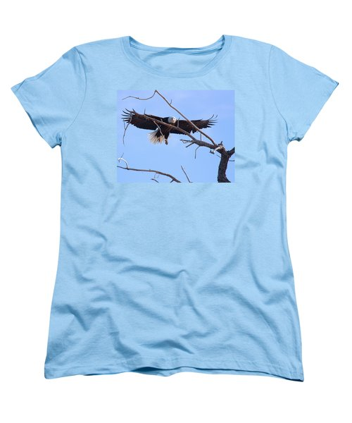 Women's T-Shirt (Standard Cut) featuring the photograph Eyes On The Prize by Jim Garrison