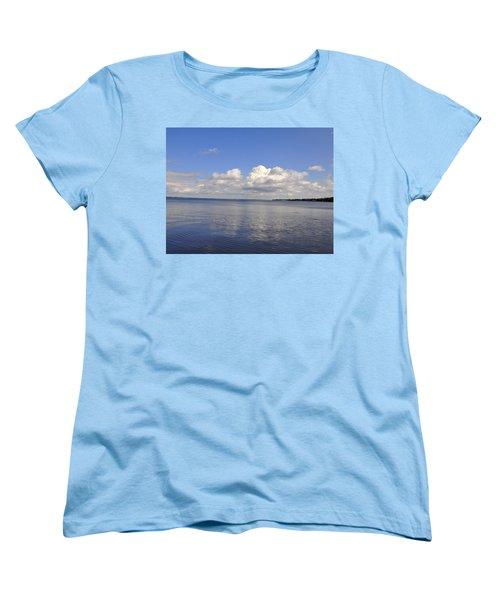 Floridian View Women's T-Shirt (Standard Cut) by Sarah McKoy