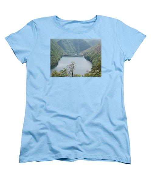 Fontana Dam Women's T-Shirt (Standard Cut) by Janice Spivey