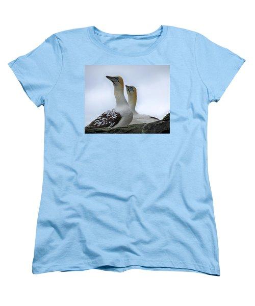 Gannets Women's T-Shirt (Standard Cut) by Lynn Bolt