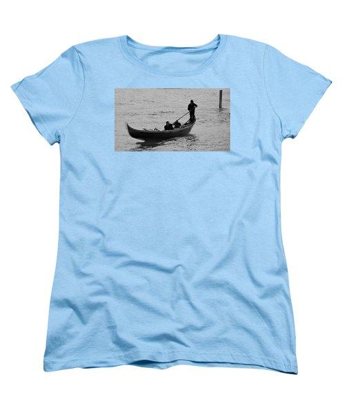 Women's T-Shirt (Standard Cut) featuring the photograph Gondola  by Eric Tressler