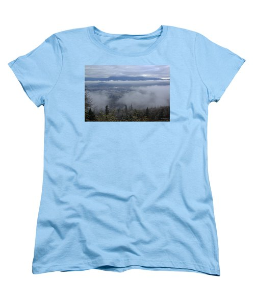 Grants Pass Weather Women's T-Shirt (Standard Cut) by Mick Anderson