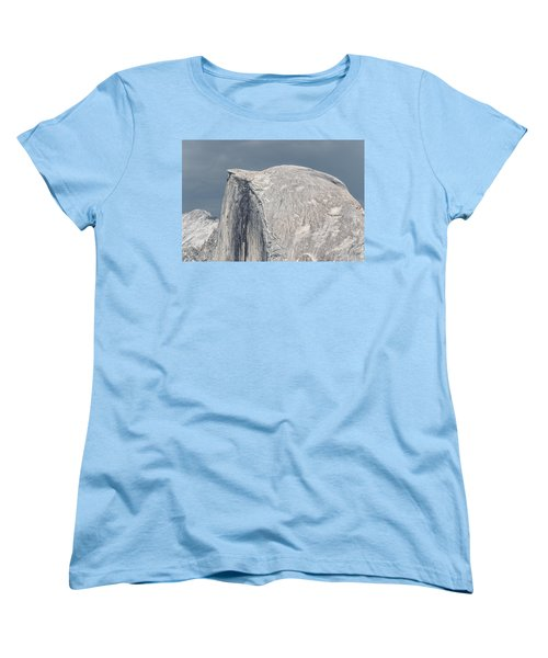 Half Dome From Glacier Point At Yosemite Np Women's T-Shirt (Standard Cut) by Michael Bessler