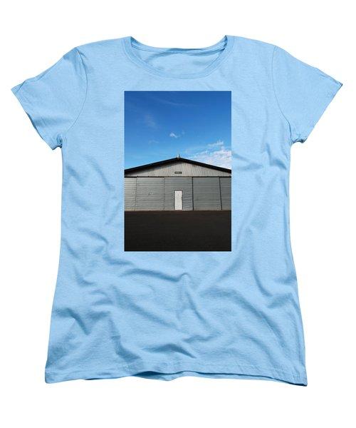 Women's T-Shirt (Standard Cut) featuring the photograph Hangar 2 by Kathleen Grace