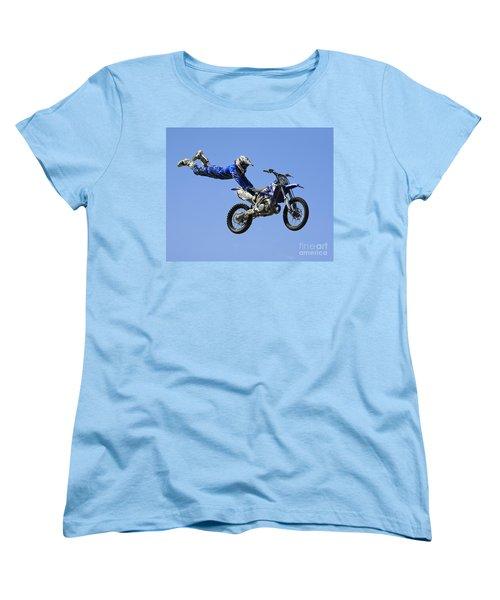 Hanging On Women's T-Shirt (Standard Cut) by Chris Dutton