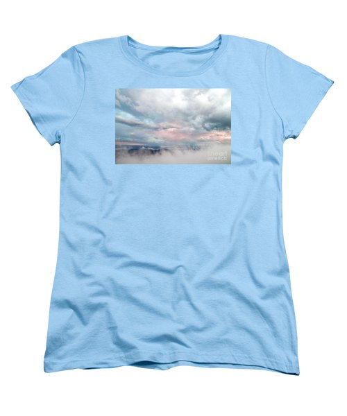 Women's T-Shirt (Standard Cut) featuring the photograph In The Clouds by Jeannette Hunt