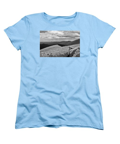 Women's T-Shirt (Standard Cut) featuring the photograph It's Raining In The Distance by David Pantuso