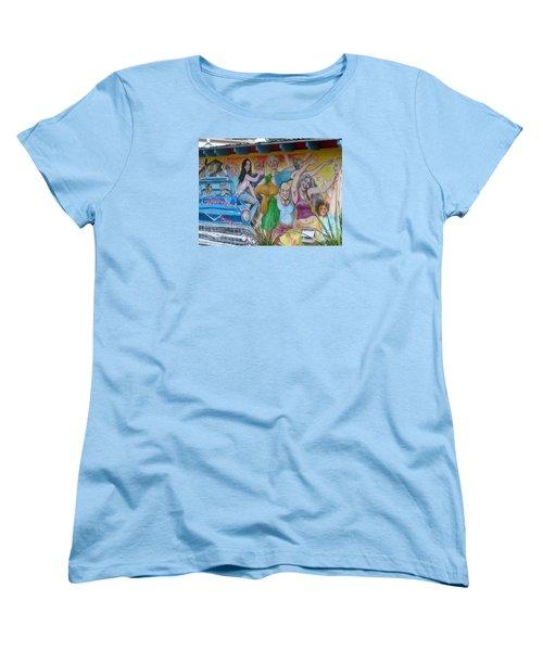 Women's T-Shirt (Standard Cut) featuring the photograph Keeping It Weird In Austin by Patti Whitten