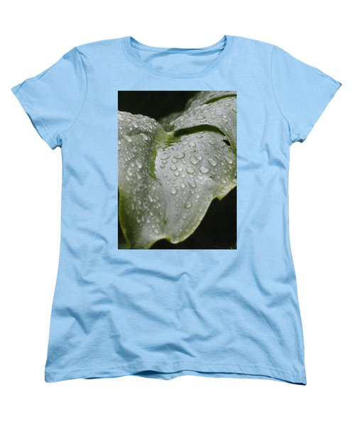 Women's T-Shirt (Standard Cut) featuring the photograph Leafy Greens by Tiffany Erdman