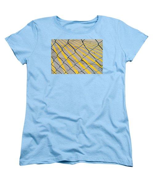 Women's T-Shirt (Standard Cut) featuring the photograph Lines by David Pantuso