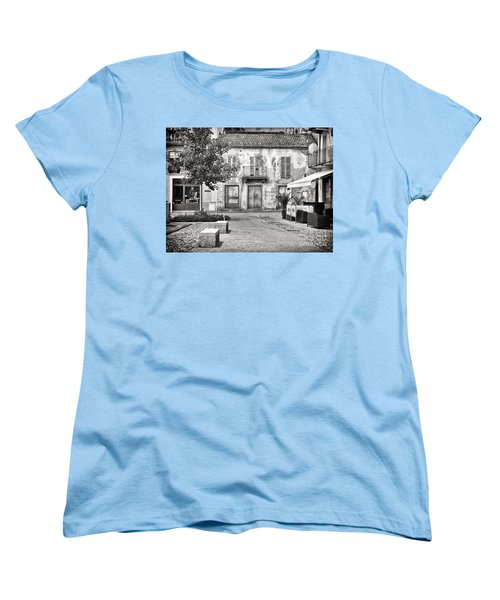 Little Italian Corner Women's T-Shirt (Standard Cut) by Silvia Ganora