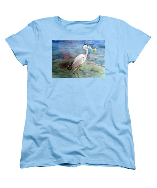 Lunchtime Watercolour Women's T-Shirt (Standard Cut) by Laurel Best