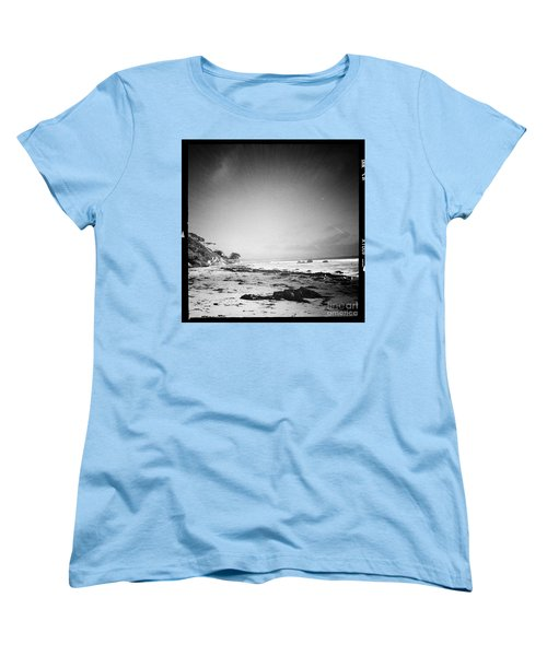 Women's T-Shirt (Standard Cut) featuring the photograph Malibu Peace And Tranquility by Nina Prommer