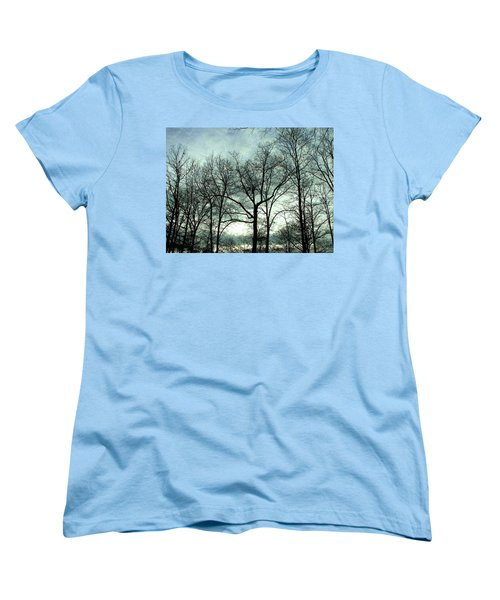 Women's T-Shirt (Standard Cut) featuring the photograph Mirage In The Clouds by Pamela Hyde Wilson