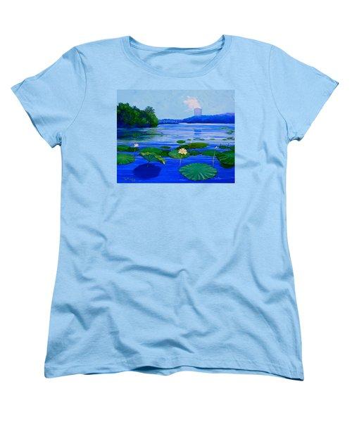 Modern Mississippi Landscape Women's T-Shirt (Standard Cut) by Jeanette Jarmon