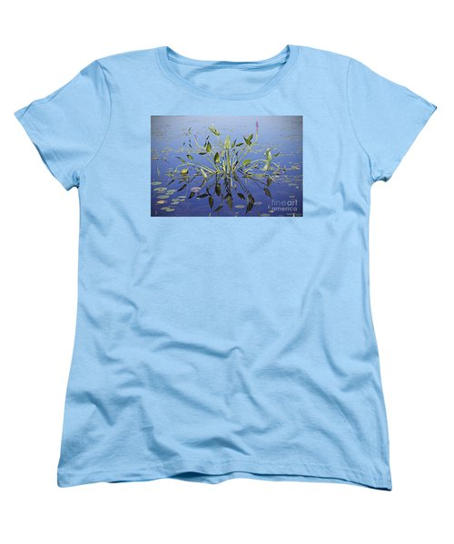Morning Reflection Women's T-Shirt (Standard Cut) by Eunice Gibb