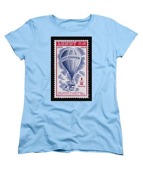 Women's T-Shirt (Standard Cut) featuring the photograph Mrs Graham The Balloonist by Andy Prendy