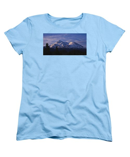 Mt Shasta Women's T-Shirt (Standard Cut) by Albert Seger
