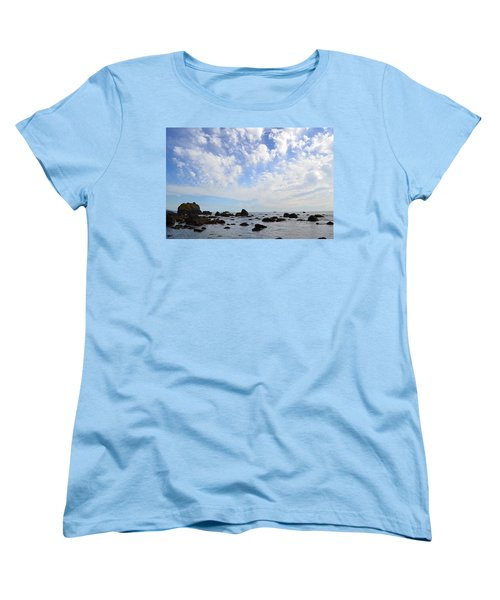 Northern California Coast1 Women's T-Shirt (Standard Cut) by Zawhaus Photography