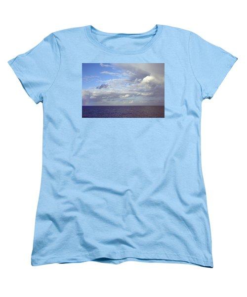 Ocean View Women's T-Shirt (Standard Cut) by Mark Greenberg