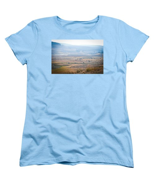 Women's T-Shirt (Standard Cut) featuring the photograph Oh Home On The Range by Cheryl Baxter