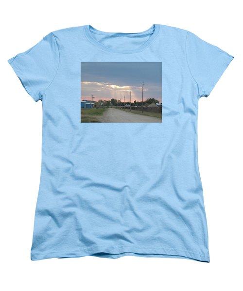 Oklahoma Beamer Women's T-Shirt (Standard Cut) by Adam Cornelison