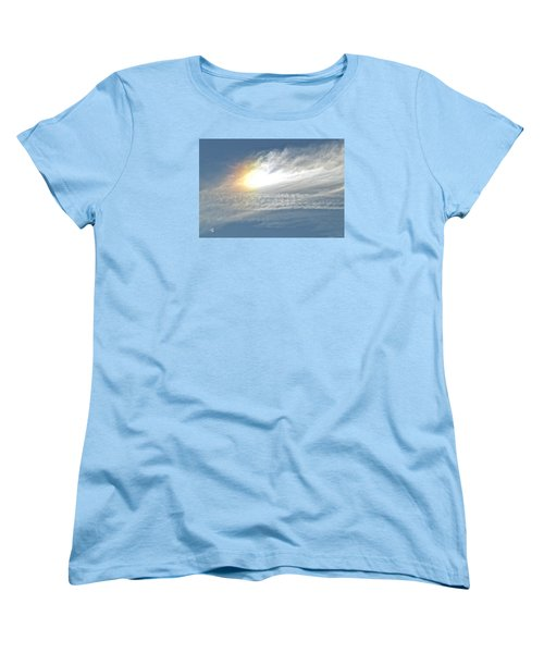 Women's T-Shirt (Standard Cut) featuring the photograph On High by Barbara Middleton