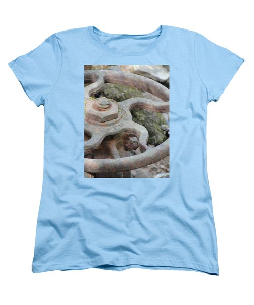 Women's T-Shirt (Standard Cut) featuring the photograph Open Or Close by Tiffany Erdman