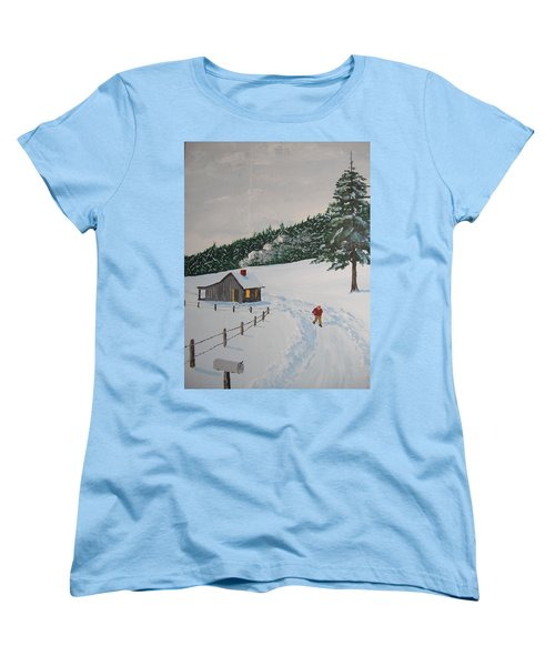 Out To Get The Mail Women's T-Shirt (Standard Cut) by Norm Starks
