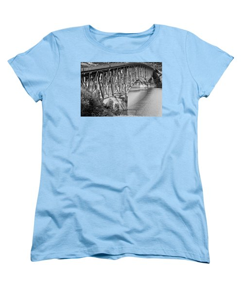Over The River Women's T-Shirt (Standard Cut) by Colleen Coccia
