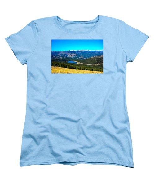 Women's T-Shirt (Standard Cut) featuring the photograph Paradise by Shannon Harrington