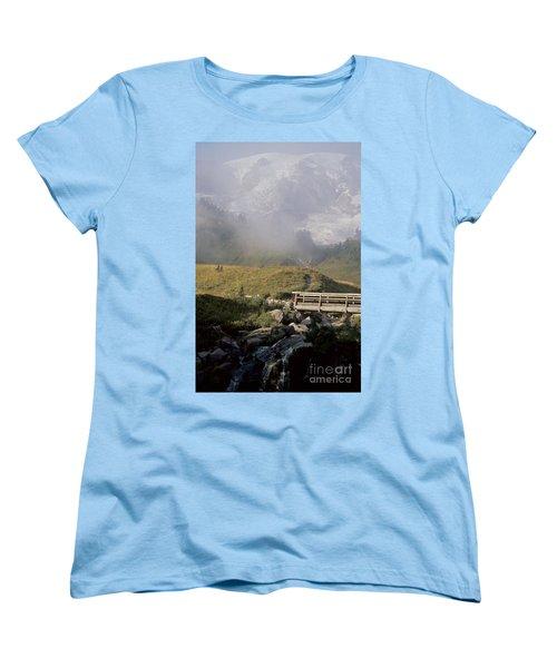 Women's T-Shirt (Standard Cut) featuring the photograph Paradise Valley by Sharon Elliott