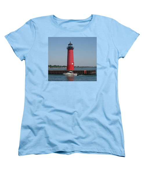 Women's T-Shirt (Standard Cut) featuring the photograph Passing By by Kay Novy