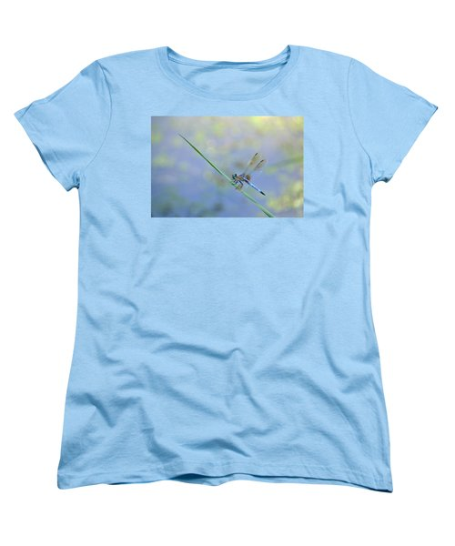 Women's T-Shirt (Standard Cut) featuring the photograph Perched Dragon by JD Grimes